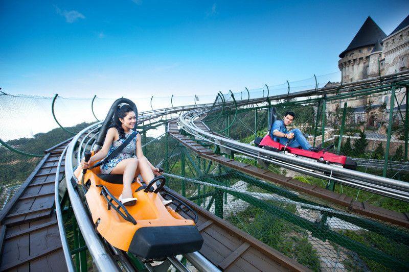 Alpine Coaster Ba Na hills