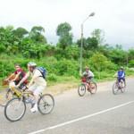 biking tour in hue