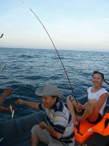 go fishing in danang