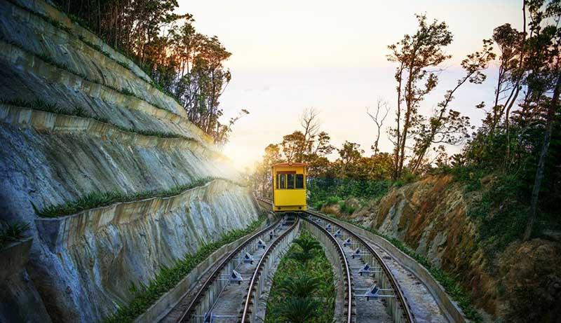 Funicular Ba Na hills