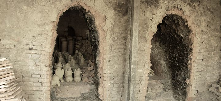 kiln at thanh ha village